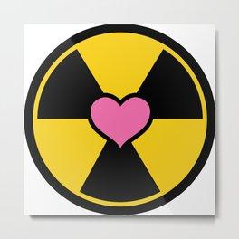 Holtzmann Nuclear Logo Metal Print