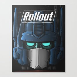 ROLLOUT Canvas Print