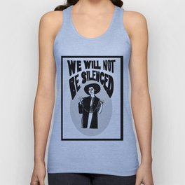 We Will Not Be Silenced V Unisex Tank Top