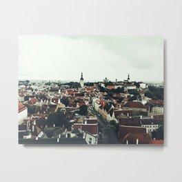 City of Tallinn Metal Print