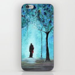 Forest of Light iPhone Skin