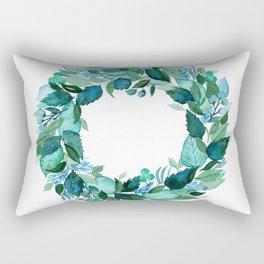 Dress Blues Botanical Rectangular Pillow