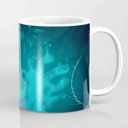 Blue Flames Coffee Mug