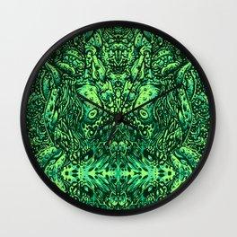 Green Hell Wall Clock