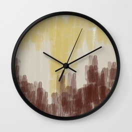 Relentless Love - abstract No 01 Wall Clock