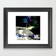 San Francisco nights Framed Art Print