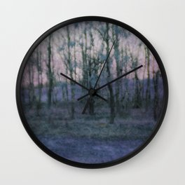 Unknown Land Wall Clock