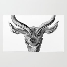 Rubino Buck Horns Rug