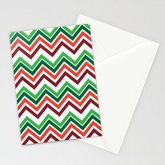 Xmas Chevron Stationery Cards