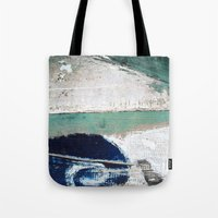 surf Tote Bags featuring Surf by Bella Blue Photography