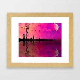 Peace on the Bayou Framed Art Print