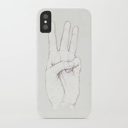 Three Threes iPhone Case