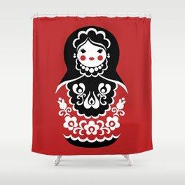 Matryoshka Shower Curtain