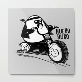 HUEVO DURO (aka HARD BOILED EGG) Metal Print