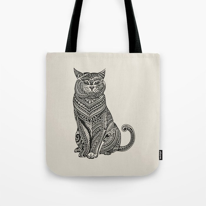 Polynesian British Shorthair cat Tote Bag