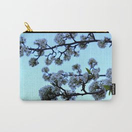Early Morning Pear Blossom Carry-All Pouch