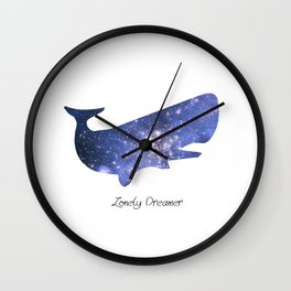 Lonely Dreamer Wall Clock