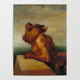 George Frederic Watts - The Minotaur Poster