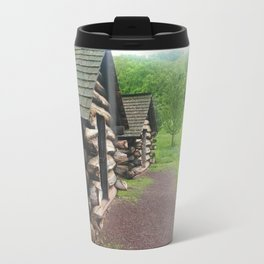 Cabins photography Travel Mug