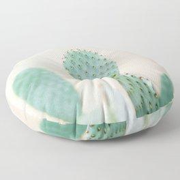 "Cactus photo print ""Botanical cactus"" Morocco | Modern Wall art | Pastel / Botanical Floor Pillow"