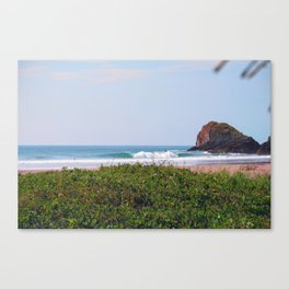 About Green and Blue Colors Canvas Print