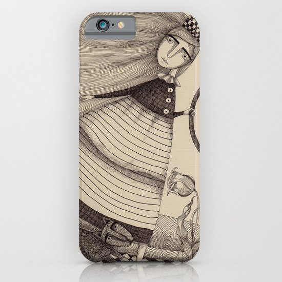 The Tulip Garden (2) iPhone & iPod Case