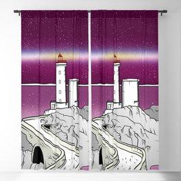 Petit Minou Lighthouse Brittany Blackout Curtain