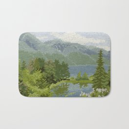 Found Tapestry Bath Mat