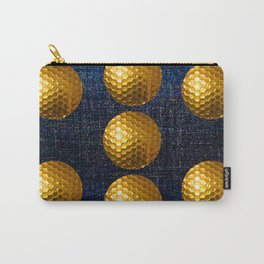 GOLDEN GOLF BALLS Carry-All Pouch