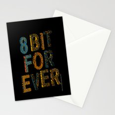 8 bit for ever Stationery Cards