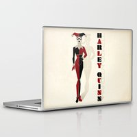 harley quinn Laptop & iPad Skins featuring Harley Quinn by Lily's Factory
