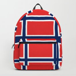 flag of norway Backpack