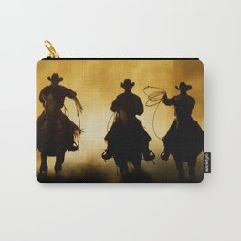Three Cowboys Western Carry-All Pouch