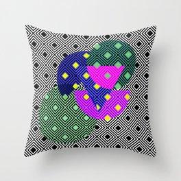 Pattern fun Throw Pillow