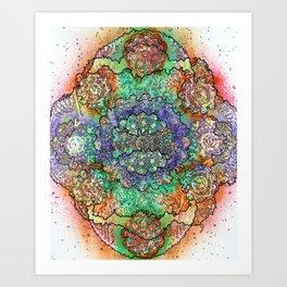 Stain 35 Art Print
