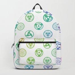 Rainbow Pattern Backpack
