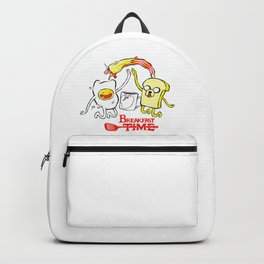 breakfast time Backpack