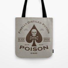 Black Spade Poison Tote Bag