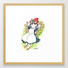 Dream about fly Framed Art Print