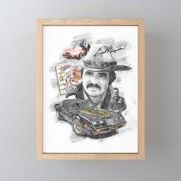 Burt Reynolds Framed Mini Art Print