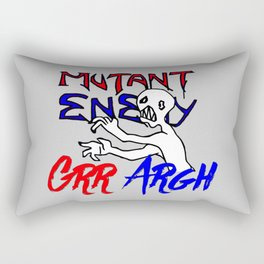 Grr Argh Rectangular Pillow