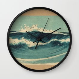 Hato Zu - Waves Wall Clock