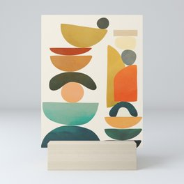 Modern Abstract Art 72 Mini Art Print