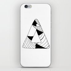 Personal Stormer Triangle iPhone & iPod Skin