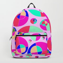 Bubble pink Backpack