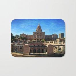 Texas State Capitol Bath Mat