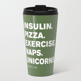 Insulin Pizza Naps (Kale) Travel Mug