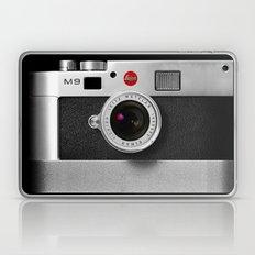 classic retro Black silver Leather vintage camera iPhone 4 4s 5 5c, ipod, ipad case Laptop & iPad Skin