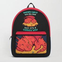 Money Bed Dragon // Fantasy, Kawaii, Roleplay Backpack