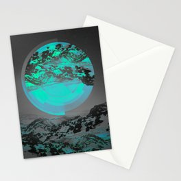 Neither Up Nor Down II Stationery Cards